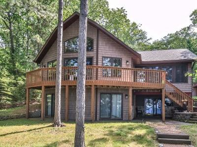 Lac Du Flambeau Single Family Home For Sale: 12969 Sunset Ridge Ln