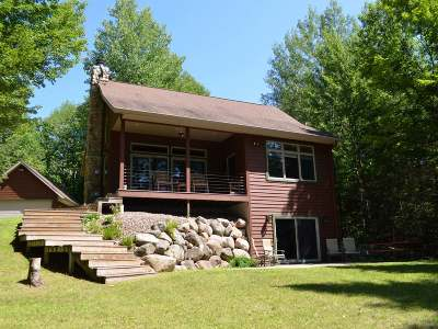 Single Family Home For Sale: N6595 Hwy 107