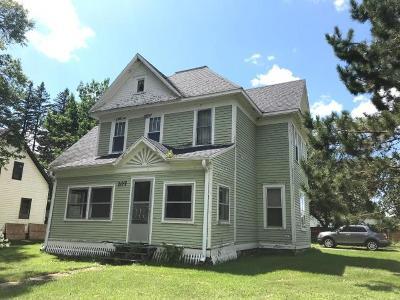 Crandon Single Family Home For Sale: 107 Metonga Ave N