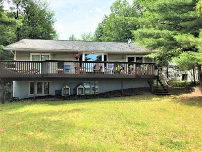 Langlade County, Forest County, Oneida County Single Family Home For Sale: 9746 Bullhead Lake Rd