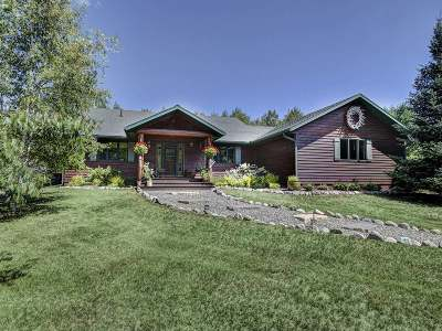 Three Lakes Single Family Home Active Under Contract: 1766 Oneil Rd #49 Acres