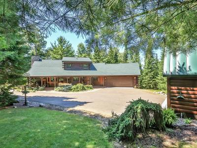 Minocqua WI Single Family Home For Sale: $775,000