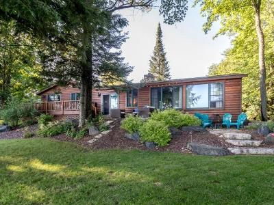 Lac Du Flambeau Single Family Home For Sale: 2554 Mays Ln