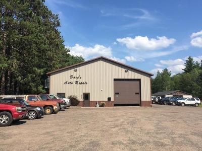 Eagle River Commercial For Sale: 1048 Hwy 45
