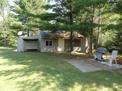 Tomahawk Single Family Home For Sale: W7560 Wagner Rd