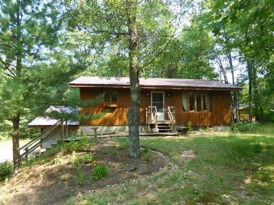 Minocqua Single Family Home For Sale: 11354 Trant Rd