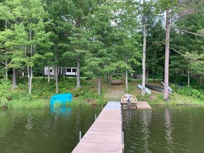 Lac Du Flambeau Single Family Home For Sale: On Elsie Lake Ln #5.78 ac