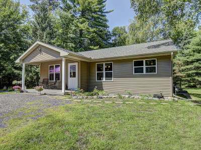 Sayner Single Family Home Active Under Contract: 8794 Cth N