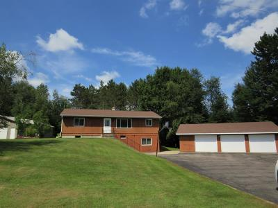 Antigo Single Family Home Active Under Contract: N11967 Hillview Rd