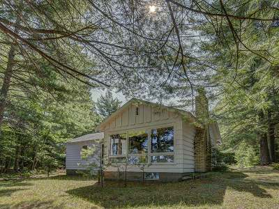 Langlade County, Forest County, Oneida County Single Family Home Active Under Contract: 1768 Meta Lake Rd