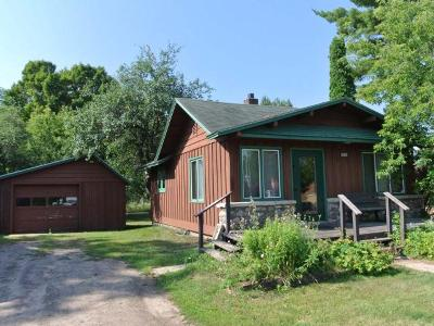 Three Lakes WI Commercial For Sale: $92,000