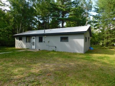 Tomahawk Single Family Home For Sale: W7694 Winter Rd