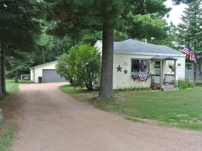 Three Lakes WI Single Family Home Active Under Contract: $79,900
