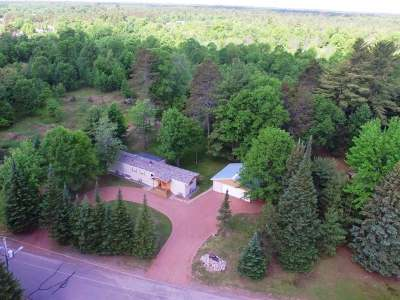 Minocqua Single Family Home For Sale: 8719 Richardson Plat Rd
