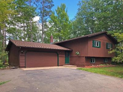 Eagle River Single Family Home For Sale: 5206 Hwy 70
