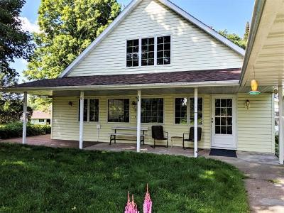 Butternut Single Family Home For Sale: W8203 Lakeshore Dr