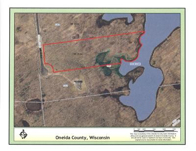 Rhinelander Residential Lots & Land For Sale: Lot 33 Hook Lake Rd
