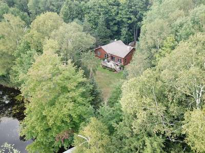 Crandon Single Family Home For Sale: 8685 Walsh Lake Rd