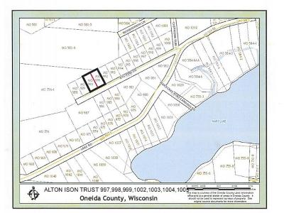 Rhinelander Residential Lots & Land For Sale: Lot 24 Mars Meadow Rd #Lot 23
