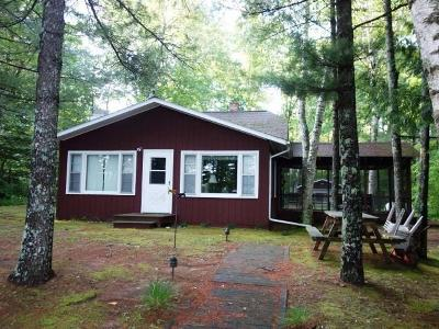Lac Du Flambeau Single Family Home For Sale: 2245 Rehm Ln