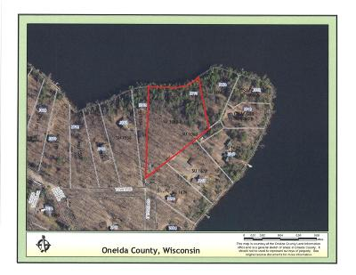 Rhinelander Residential Lots & Land For Sale: 3770 Tower Rd