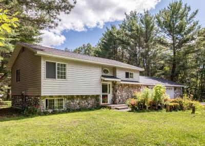 Minocqua Single Family Home For Sale: 8640 Mercer Lake Rd