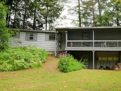Deerbrook Single Family Home For Sale: W10286 Borth Lake Rd