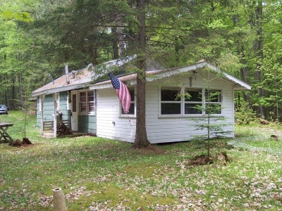 Minocqua Single Family Home For Sale: 8698 Squaw Lake Rd W
