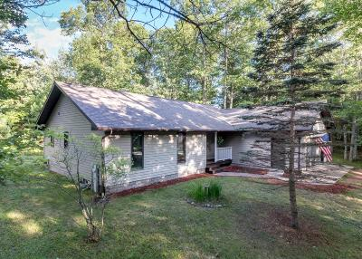 Minocqua Single Family Home For Sale: 8092 Clark Rd
