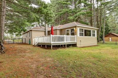 Minocqua Single Family Home Active Under Contract: 9569 Old Hwy 70