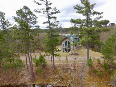Minocqua Single Family Home For Sale: 8120 Streater Rd N