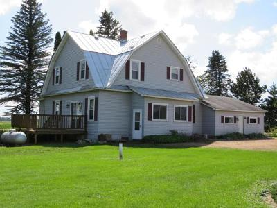 Bryant Single Family Home For Sale: W8496 Cth O