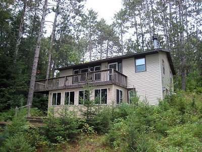 Langlade County, Forest County, Oneida County Single Family Home For Sale: 5865 Pier Lake Rd E
