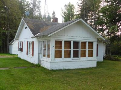 Langlade County, Forest County, Oneida County Single Family Home For Sale: 4311 Hwy 8