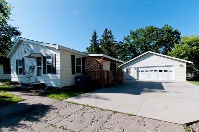 Rice Lake WI Single Family Home For Sale: $95,900