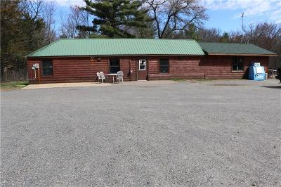 Jackson County Commercial For Sale: N6625 Hideaway Road