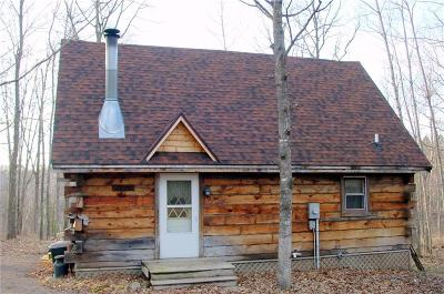 Ladysmith WI Single Family Home For Sale: $169,000