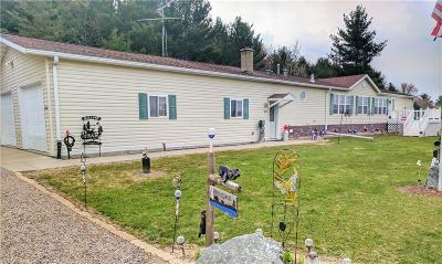 Clark County Manufactured Home For Sale: 6807 W County H Road