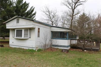 Jackson County, Clark County Manufactured Home For Sale: W8520 Hwy 12