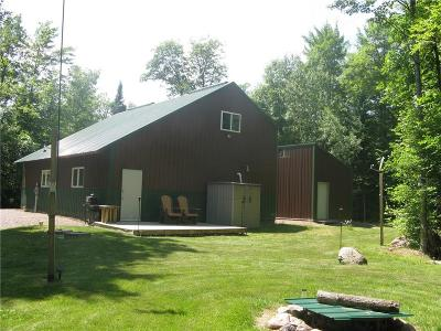 Exeland WI Single Family Home For Sale: $129,000