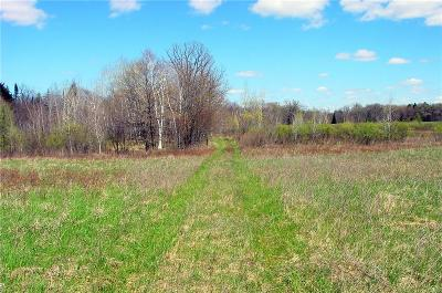 Rusk County Residential Lots & Land For Sale: 55 Acres Cty. Rd. D