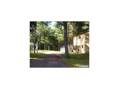 Barron County Single Family Home For Sale: 985 25 1/16th Street