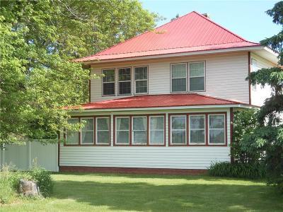 RICE LAKE Single Family Home For Sale: 2152 22 1/2 Avenue