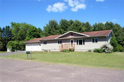 Bruce WI Single Family Home Active Bump: $194,500