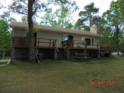 Trego WI Single Family Home For Sale: $169,900