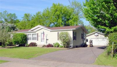 Ladysmith WI Single Family Home Active Bump: $119,000