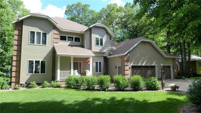 RICE LAKE Single Family Home For Sale: 1516 E Orchard Beach Lane