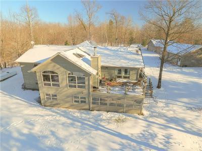 Chetek Single Family Home For Sale: N541 Sunset Lane