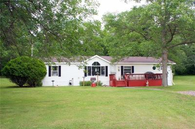 Rusk County Manufactured Home For Sale: W7920 Hwy D