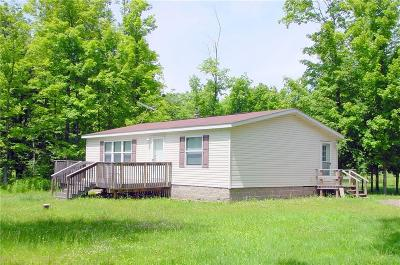 Rusk County Manufactured Home For Sale: W6603 Lakewood Blvd.